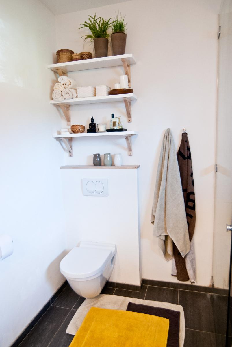 Badezimmer Wanddeko