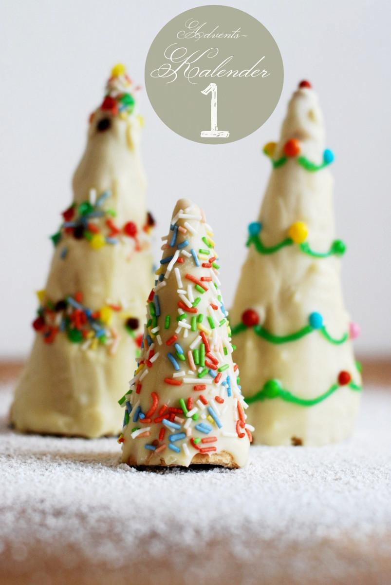 Hornchen Aus Eiswaffeln Als Weihnachtsdeko Leelah Loves