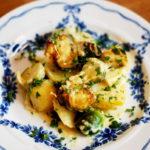 Rosenkohl-Kartoffel Gratin