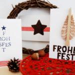Weihnachtskarten (Teil 1)