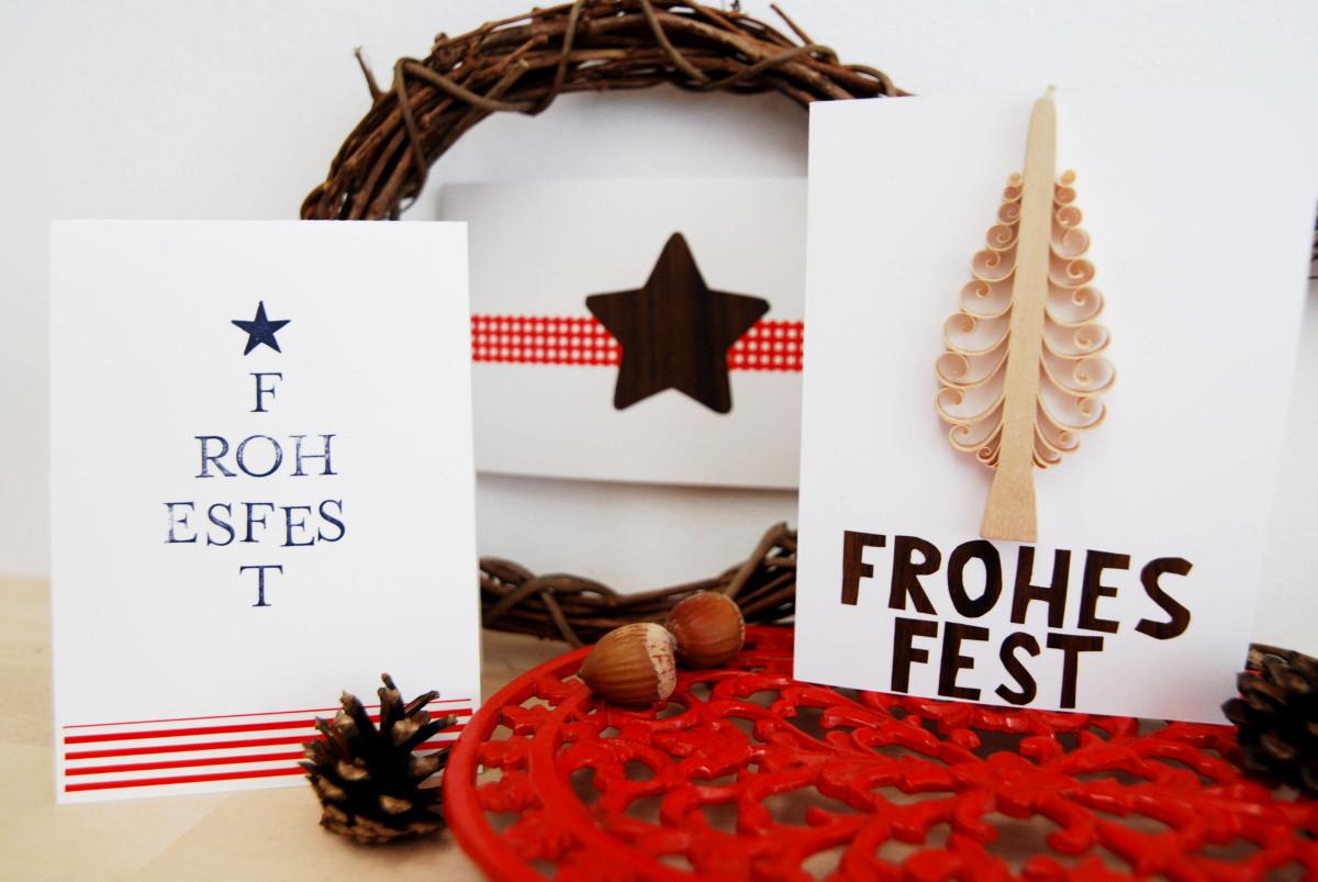 weihnachtskarten teil 1 leelah loves. Black Bedroom Furniture Sets. Home Design Ideas