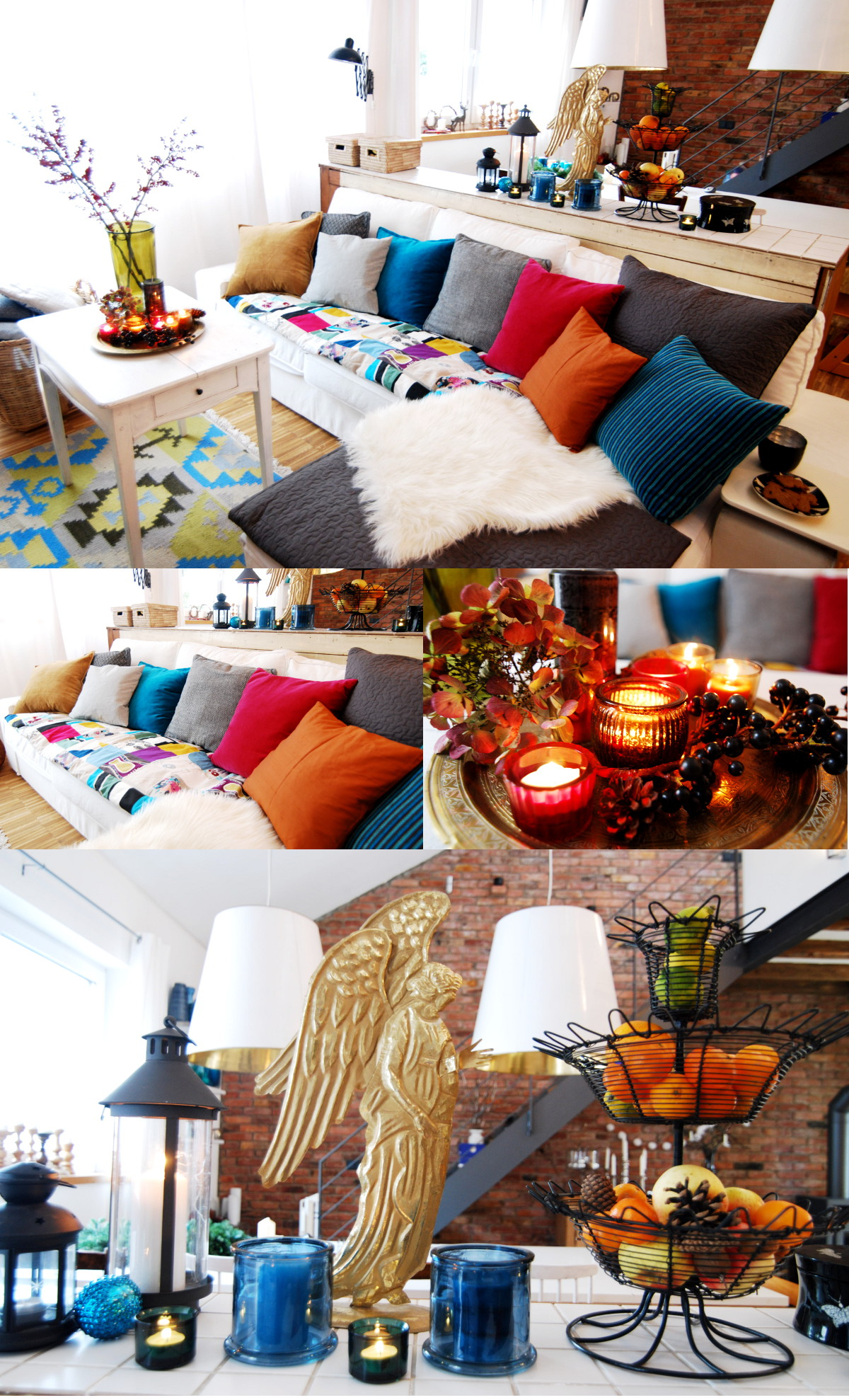 Winter Deko im Wohnzimmer - Leelah Loves