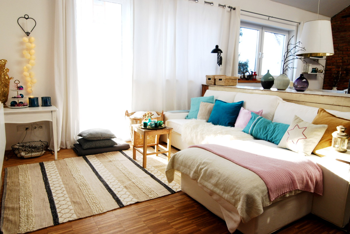 Wohnzimmer in Pastelltönen - Leelah Loves