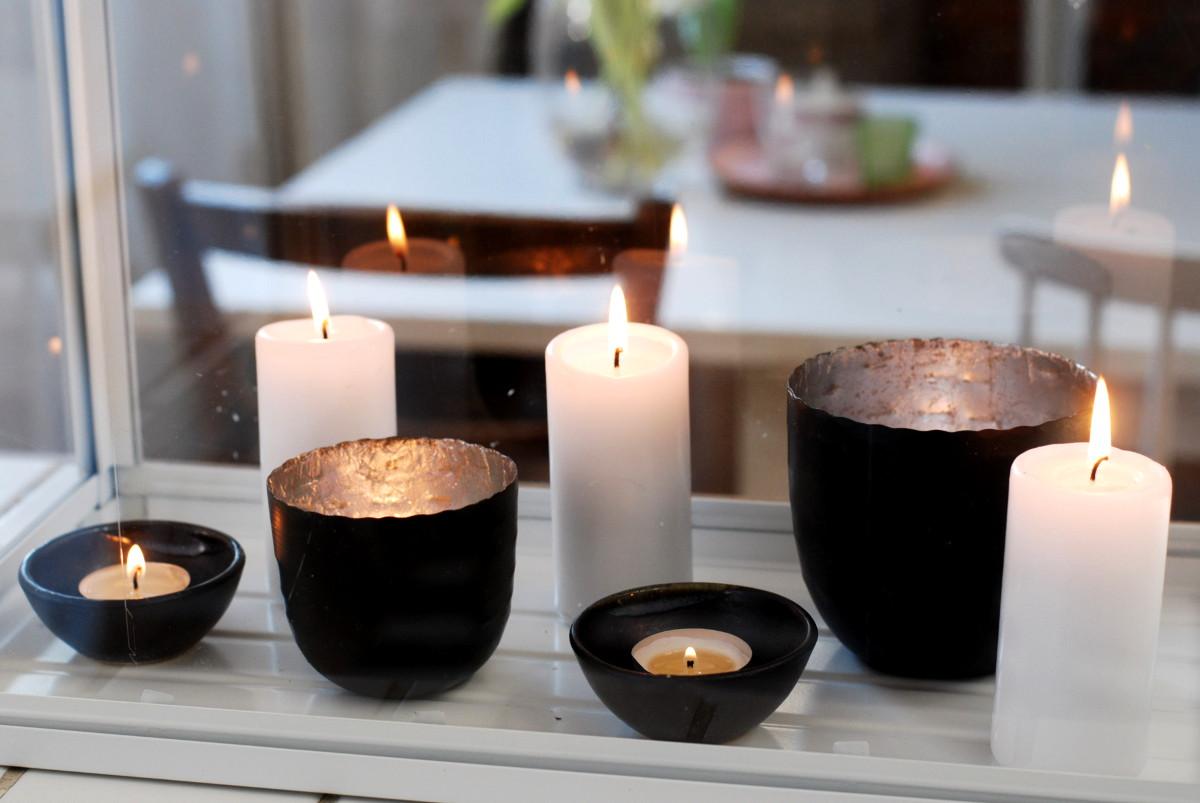 Deko Mit Kerzen Leelah Loves