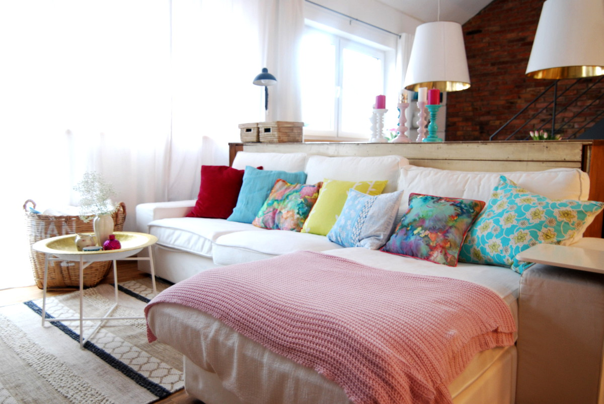 Deko In Pastellfarben Im Wohnzimmer Leelah Loves