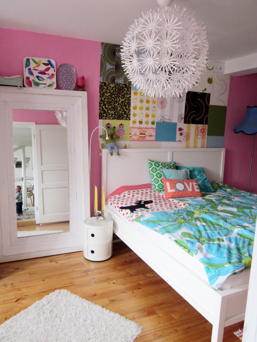 Schlafzimmer in Bunt - Leelah Loves