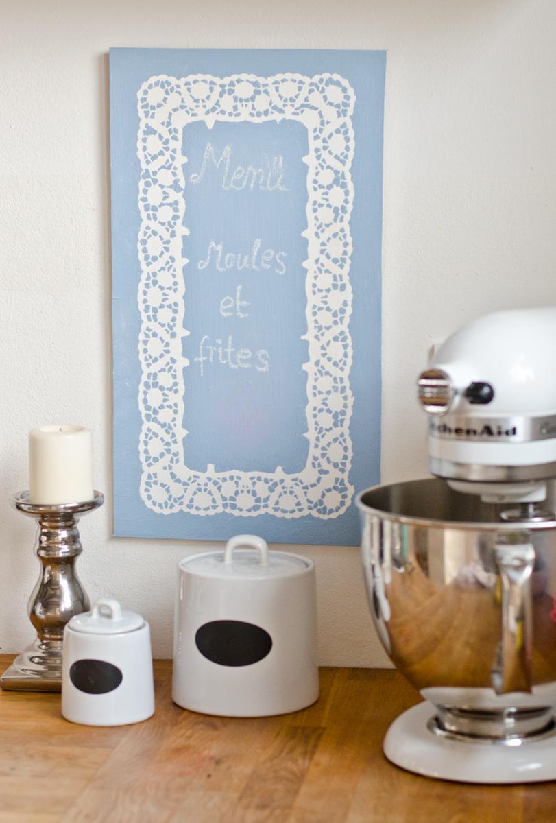 Tafel mit selbstgemachter tafelfarbe leelah loves - Ideen mit tafelfarbe ...