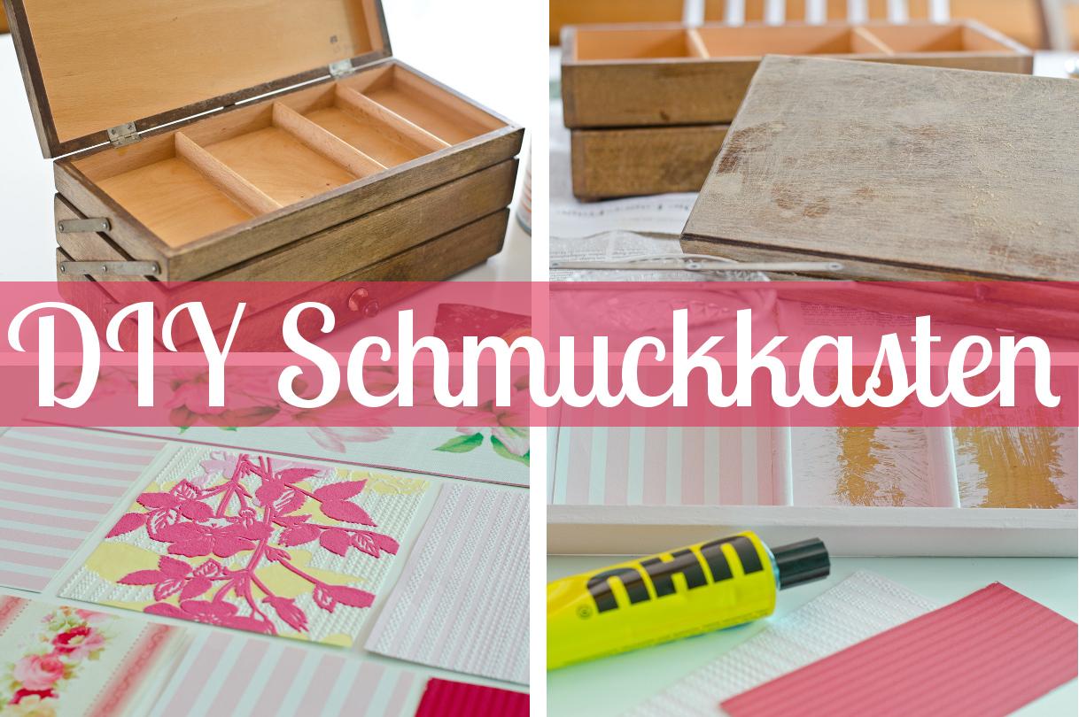 schmuckkastchen holz basteln, diy schmuckkasten oder beautycase aus alter holzkiste - leelah loves, Innenarchitektur