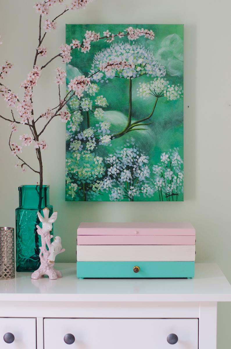 Wanddeko schlafzimmer diy: schöne wohnideen fensterbank deko ...