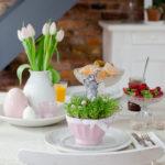 Tischdeko für Ostersonntag