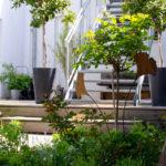 Ein klitzekleiner Gartenpost