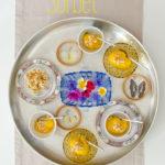 Sun-kissed: Mango Sorbet mit Cashew-Krokant