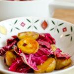 Winterlicher Kartoffelsalat mit Radicchio und Datteln