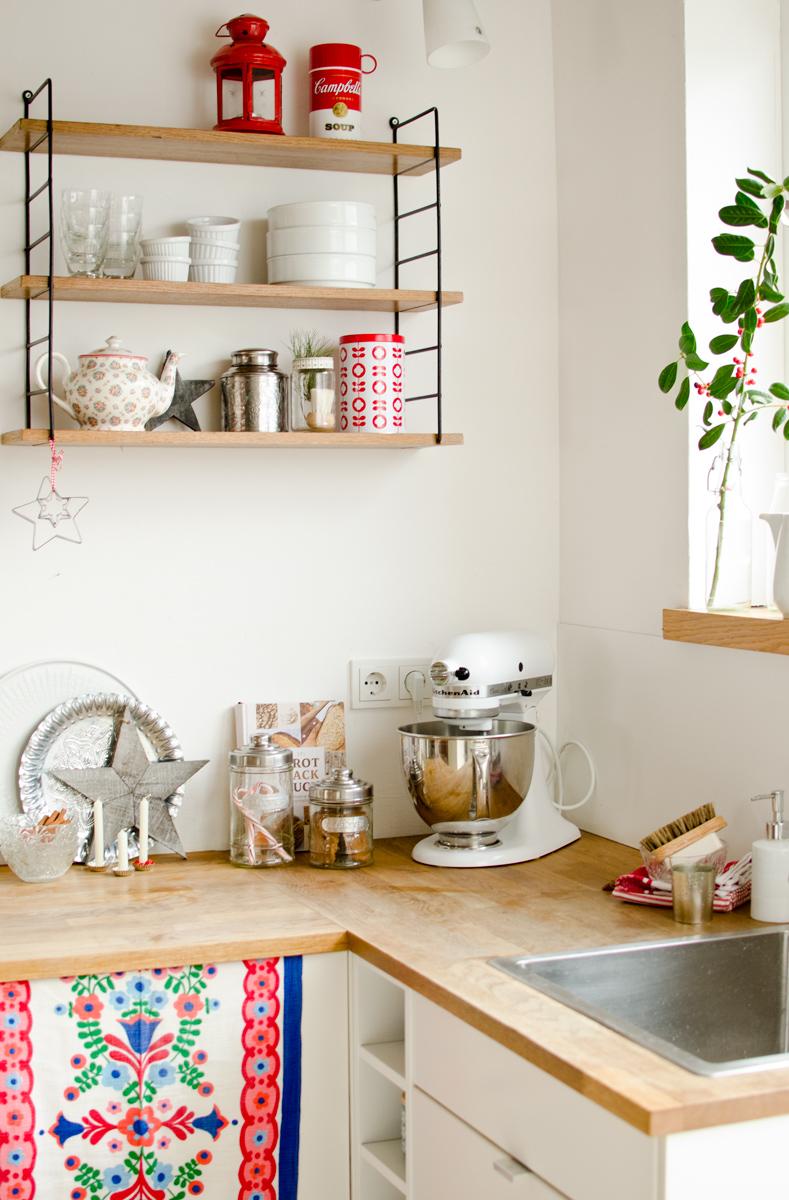 Dekoideen für die Küche an Weihnachten im vintage Look - Leelah Loves