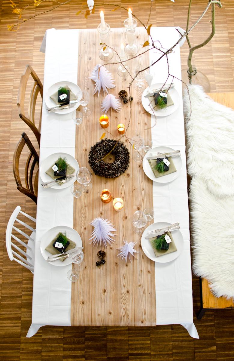 Tischdeko f r weihnachten leelah loves for Tischdeko weihnachten ideen