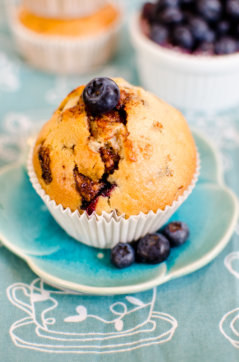 vegane blaubeer schoko muffins leelah loves. Black Bedroom Furniture Sets. Home Design Ideas