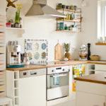 Küche mit brakig