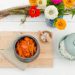 Keine Zeit zum Mittagessen (6): Kürbis-Tomaten-Gulasch (vegan)