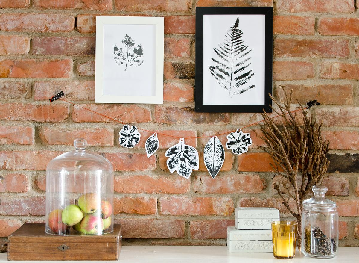 diy wochenendbastelei pflanzendruck leelah loves. Black Bedroom Furniture Sets. Home Design Ideas