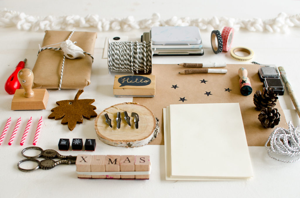 Weihnachtskarten DIY Workshop mit Leelah loves