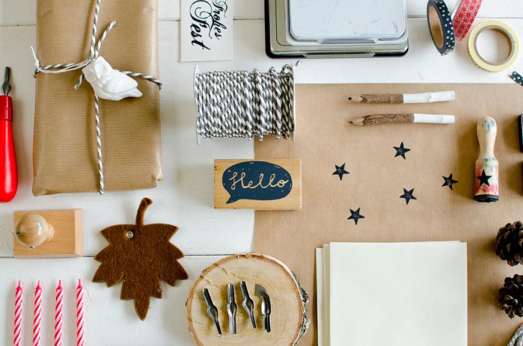 Weihnachtskarten DIY Workshop mit Leelah loves