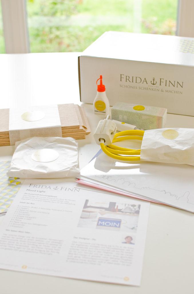 DIY Set Stimmungsleuchte von Frida & Finn als Deko für ein Zuhause im skandinavischen Stil