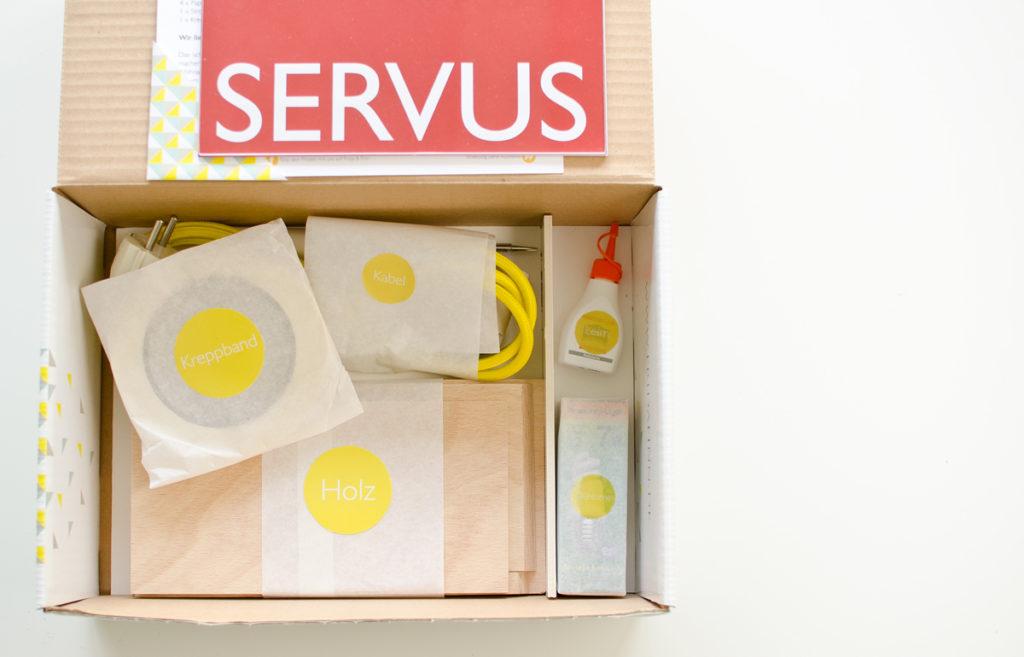 stylishe DIY-Kit Stimmungslampe zum selber bauen für Kreative Bastler und deren einzigartiges Zuhause