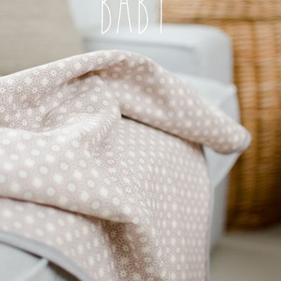 diy – easy peasy Babydecke