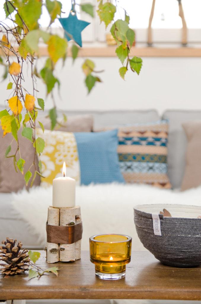 #rausausdemgrau upcycling Ideen für die Wohnung aus alten Pullis mit THINK!