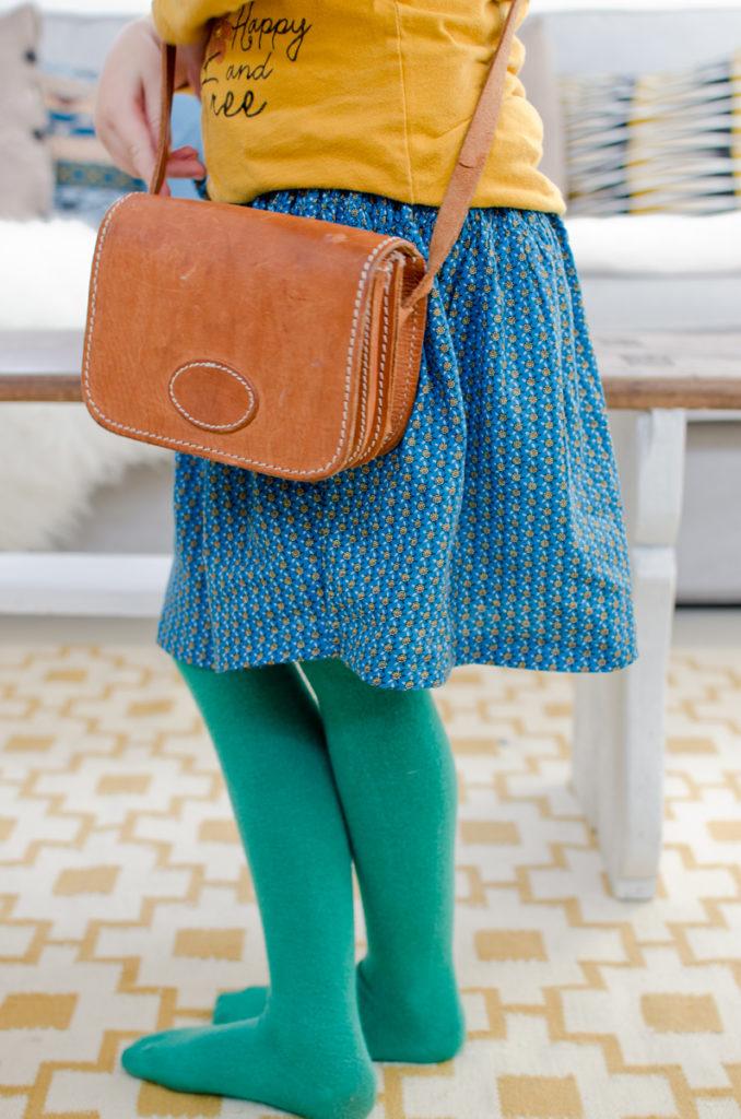DIY upcycling von alter Kleidung zu neuer Kinderkleidung nähen