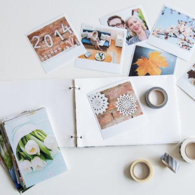 diy – Fotoalbum und Bilder vom Workshop