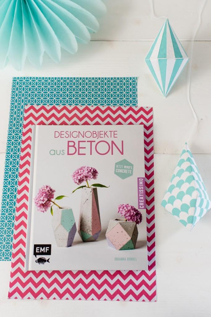 """Leelah loves Advents Giveaway mit dem Buch """"Designobjekte aus Beton"""" von Johanna Rundel"""