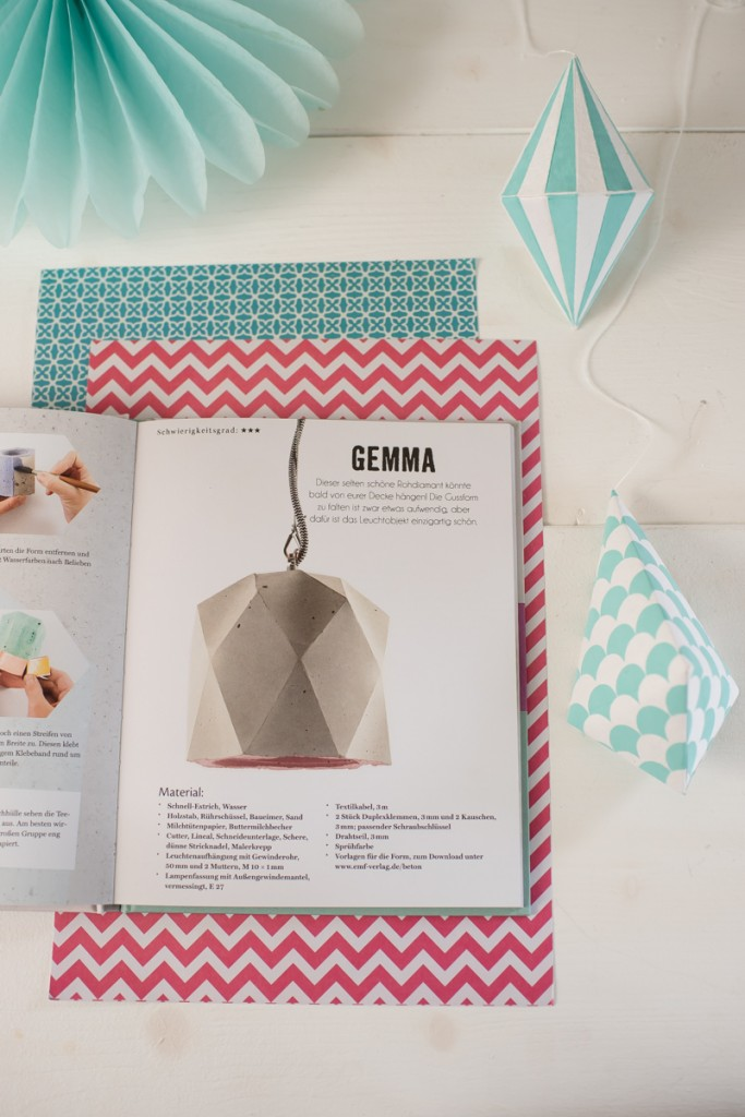 """Giveaway zum Advent mit Leelah loves und dem Buch """"Designobjekte aus Beton"""" von Johanna Rundel"""