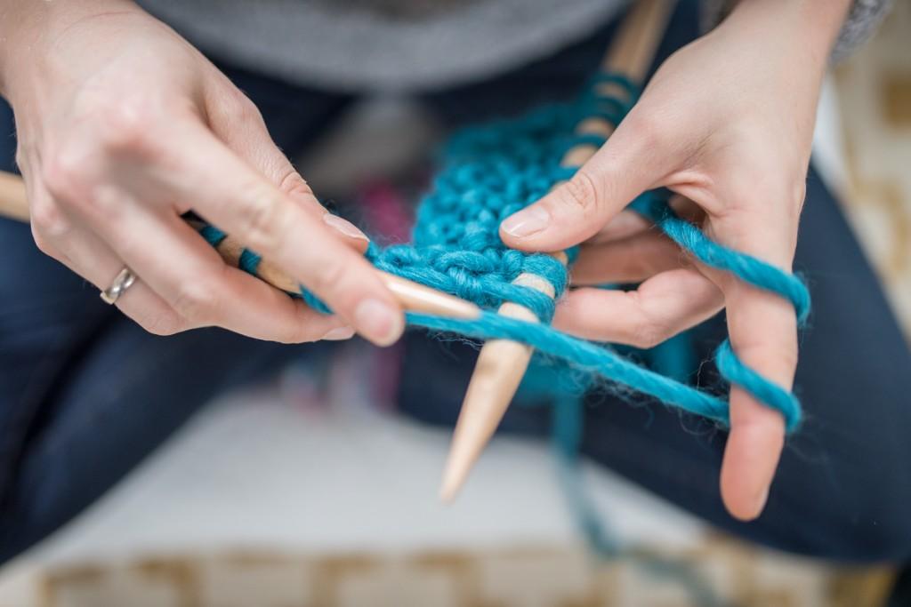 Gewinnspiel mit Leelah loves und we are knitters im Advent für Strick Fans