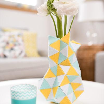 diy – Vase aus Filz (+Meditation)