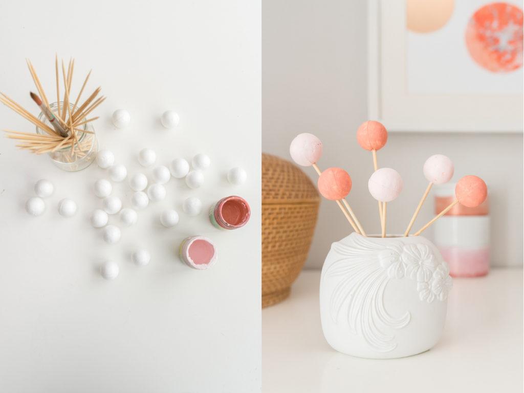 DIY Papier selber marmorieren mit Acrylfarben und Ölfarben und upcycling Deko für die Wand im Marmor Look
