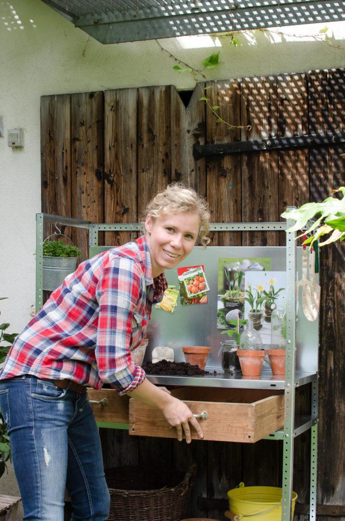 """Making-of zum Gartenbuch """"Gartendeko fürs ganze Jahr"""" von Katharina Pasternak im Edition Michael Fischer Verlag"""