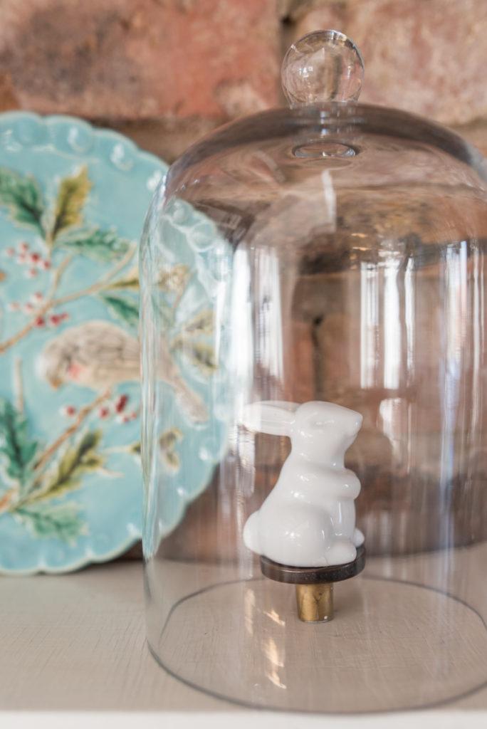 Dekoideen für den Frühling und Ostern in Pastellfarben im shabby vintage Look