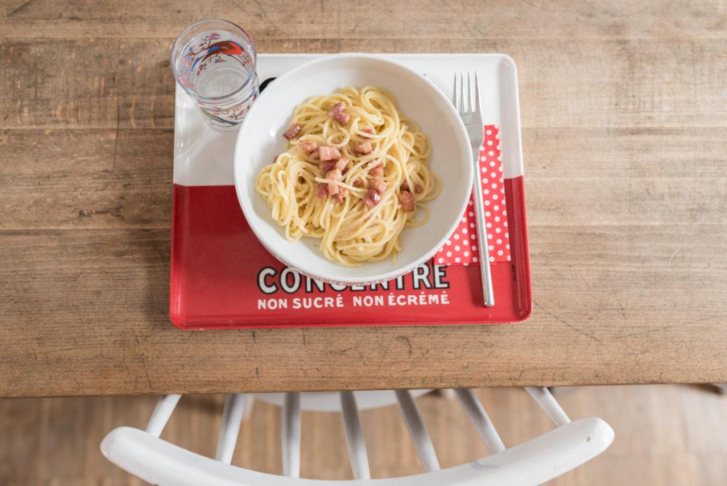 Rezept für schnelle Spaghetti alla Carbonara