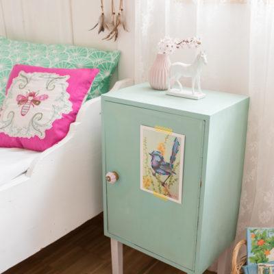 diy – Nachttisch-Schrank fürs Kinderzimmer + Giveaway