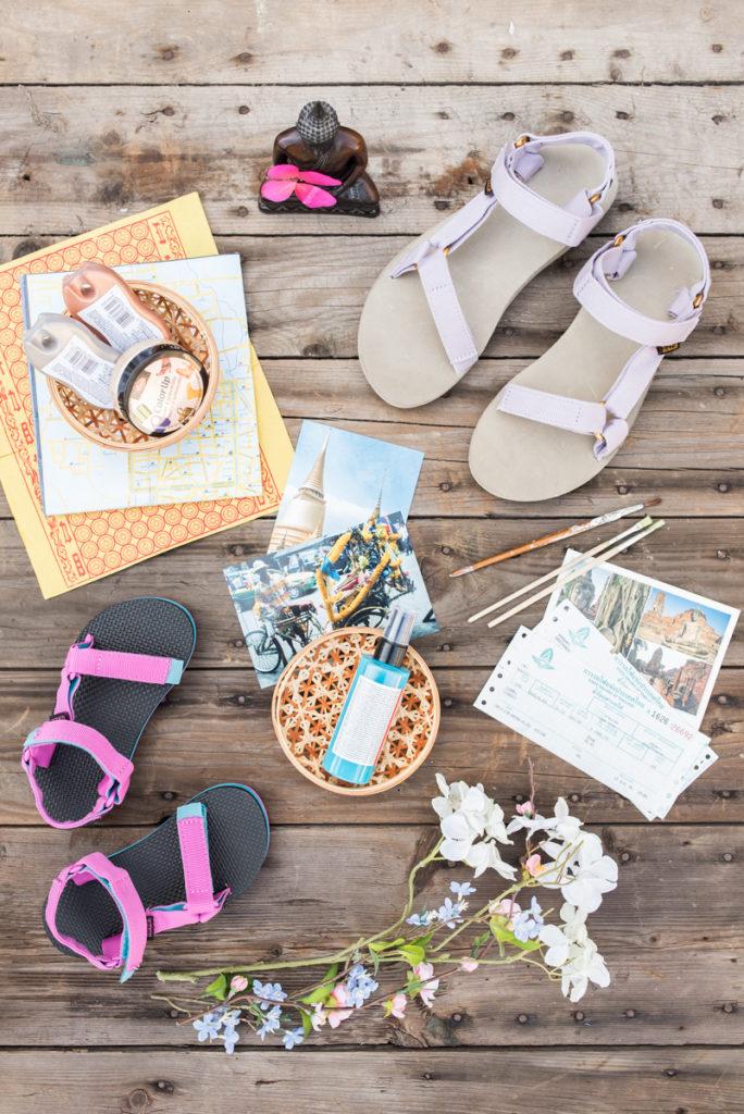 DIY Sandalen customizing mit Teva Sandalen