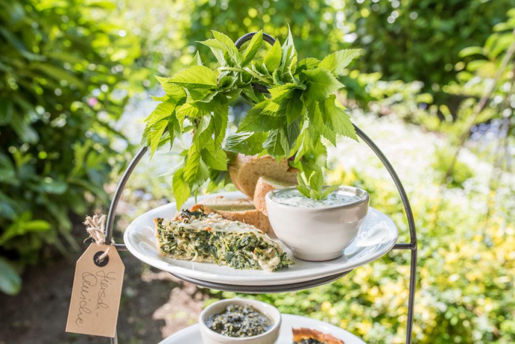 Wildkräuter Rezepte mit Giersch aus dem Garten im Frühling