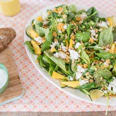 Frischer Look und frisches Gemüse