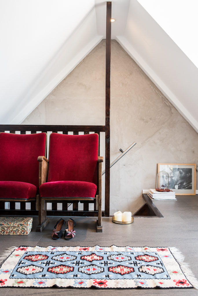 Wohnideen im Boho Loft mit  Deko Ideen im vintage Look