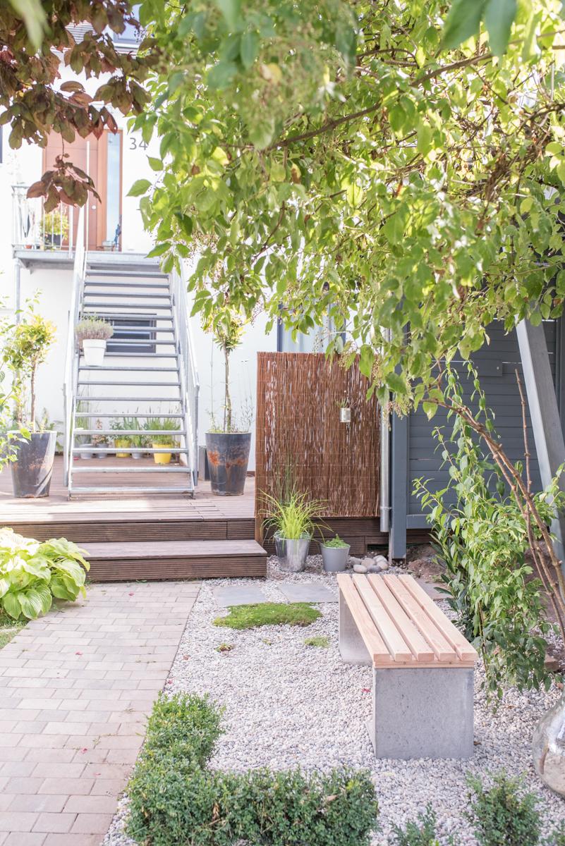 Diy Gartenbank Mit Beton Und Holz Leelah Loves