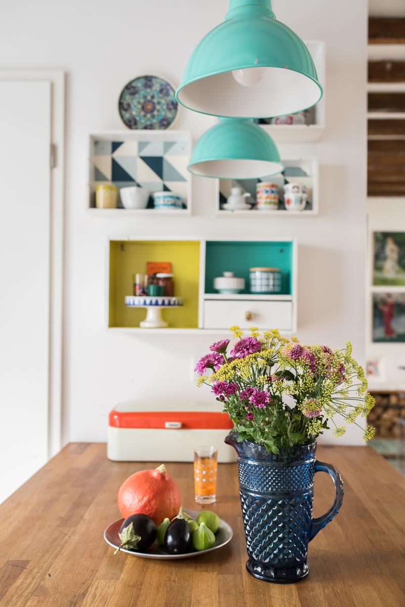 vintage k che deko. Black Bedroom Furniture Sets. Home Design Ideas