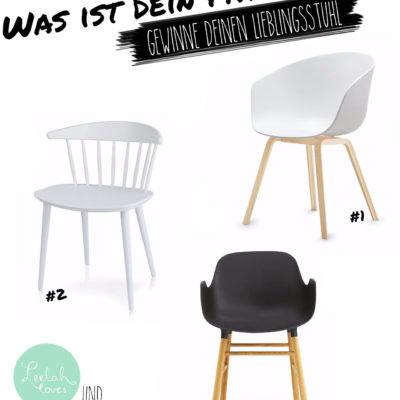 Welcher Stuhl passt zu mir? Und welcher zu Dir? (Gewinnspiel)