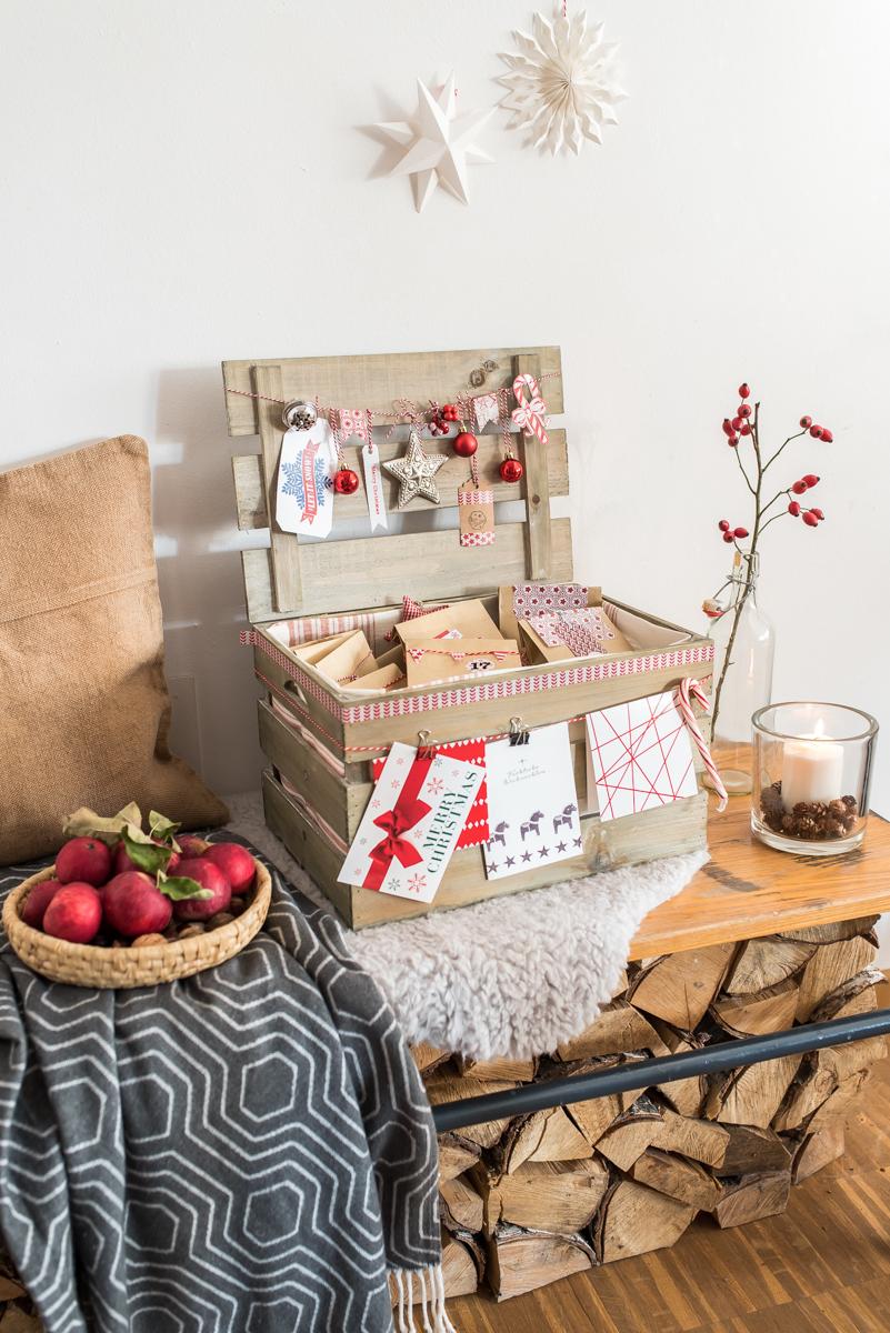 adventskalender in der kiste kooperation mit tchibo leelah loves. Black Bedroom Furniture Sets. Home Design Ideas