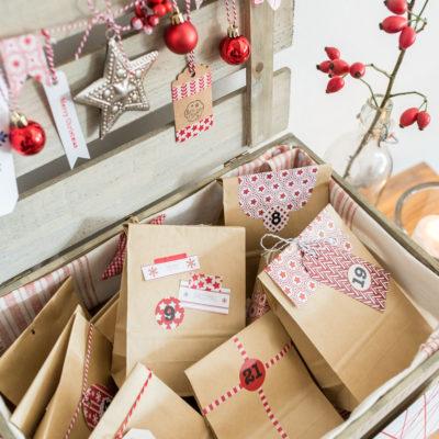 Adventskalender in der Kiste (Kooperation mit Tchibo)