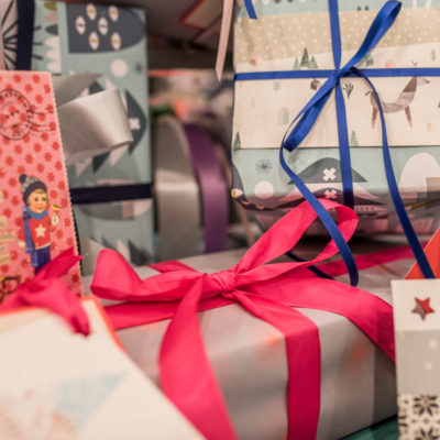 Die flow Geschenkeverpackstation
